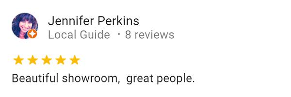 Jennifer perkins Google review